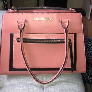 CHRISTIAN SORIANO LARGE PINK PURSE